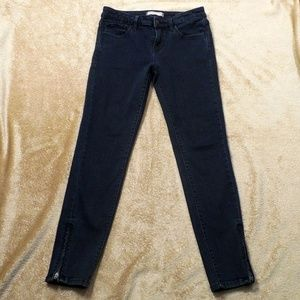 Uniqlo Jeans Tapered Mid Rise Leggings 24 Inch
